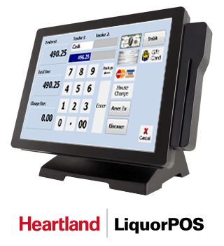 Heartland Liquor POS Breeze Monitor